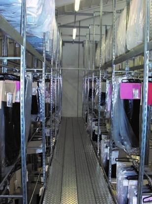 Picture of Skladišni regali za vješanje odjeće - Modeli BP-MT90V